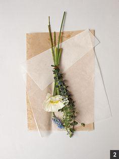 프렌치 스타일 감성 꽃다발 : 네이버 매거진캐스트