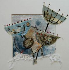 'Dotty about seed heads' by Louise O'Hara of DrawntoStitch www.drawntostitch.com
