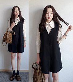 Korean Style Street Style Korea Fashion Street Style Winter Spring Autumn Modest Fashion Insoiration Asian Style Taiwan Online Shop