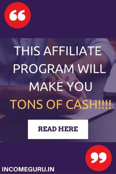 Looking for a high paying affiliate program? You have landed the right place