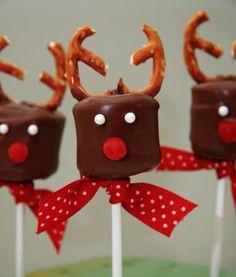 Reindeer Chocolate Bites