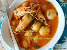 Voici un plat antillais typique : les dombrés aux crevettes. Réalisez-le facilement avec Tatie Maryse pour un plat tellement savoureux qu'on en redemande !