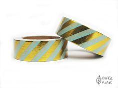 Washi Tape Foil Streifen.. Paperflair.de