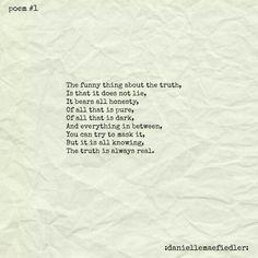 Poem #1