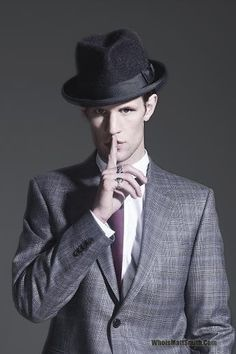 Matt Smith. Not conventionally handsome but there really is something about him...