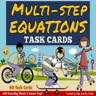 This pack contains a total of sixty (60) task cards divided into three (3) sets. You may use these task cards to introduce, provide practice, or te...