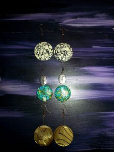 SOLD Earrings by Peace of Junk ♥ (sold, but you can still order a pair...peacejunky78@gmail)