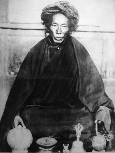 "Lerab Lingpa, aka Terchen Sogyel, was a prominent Nyingma ""terton"" (treasure revealer) based in Kham. A teacher to many of the 20th century's major teachers, including HH the 14th Dalai Lama. His ""terma"" (treasures) are collected in 20+ volumes."