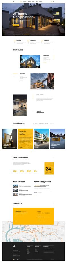 AI | Creative Multipurpose PSD Template #construction #fitness #lawyer • Download ➝ https://themeforest.net/item/ai-creative-multipurpose-psd-template/19509331?ref=pxcr
