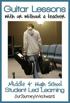 How my son learned to play guitar whether a teacher was available or not.