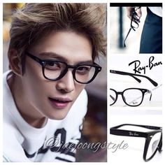 #Jaejoong's eyewear is Wellington type #RayBan.  Price: ¥13,900. Credit: #BNTInternational and Rakuten. #JYJ #KimJaejoong #BNT #김재중 #eyeglasses