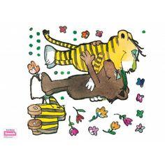 Fenstersticker Tiger, Bär und Tigerente - ein Wiedersehen - Beiwanda