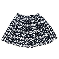 ON SALE, ONLY 4 LEFT | Milky Tribal Skirt only $12.00 | Sizes 00,0,1,3 | Available online at www.littleredchick.com.au or in store. #monochrome #skirt #blackandwhite #littleredchick #milky #sale