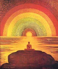 Self-Realization and Enlightenment Zen, Mandala, Psy Art, Samurai, Visionary Art, Yoga Meditation, Psychedelic, Pranayama, Mystic