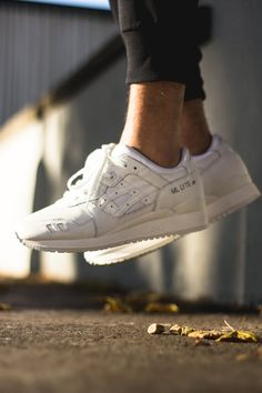 "#ASICS Gel Lyte III ""Triple White"" #sneakers"