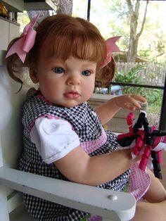 REBORN REVA SCHICK ARIANNA TODDLER GIRL fake baby toddler | eBay