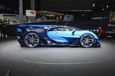 2016 Bugatti Vision Gran turismo Concept--The best gets better: Bugatti confirms Geneva debut for all-new Chiron - Images