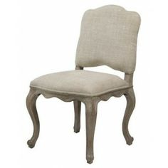 SixBondStreet - Chair Devonshire With Lion - Linen