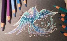 Ice     phoenix by AlviaAlcedo