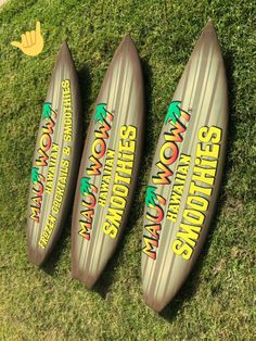 I take used surfboards and wrap with your company logos! Maui Wowi is a great client of mine! Used Surfboards, Maui, Backyard, Logos, Vintage, Patio, Second Hand Surfboards, Logo, Backyards