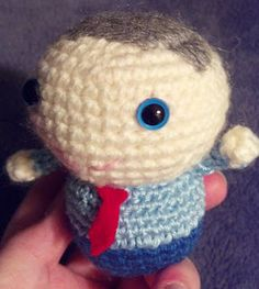 Amigurumi Dad - I made this pattern for Father's Day.  It's available for free on my blog!