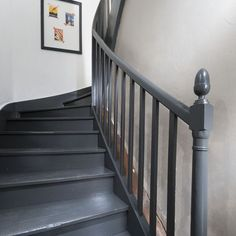 L'escalier relooké a fière allure