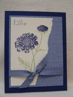 Field Flowers in Wisteria by suen - Cards and Paper Crafts at Splitcoaststampers