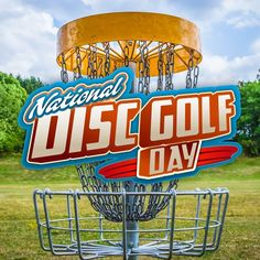It's National Disc Golf Day Share the fun! ⛳️ 1st Saturday in August #discgolf