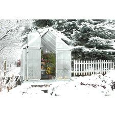 Snap and Grow 8 Ft. W x 12 Ft. D Polycarbonate Greenhouse