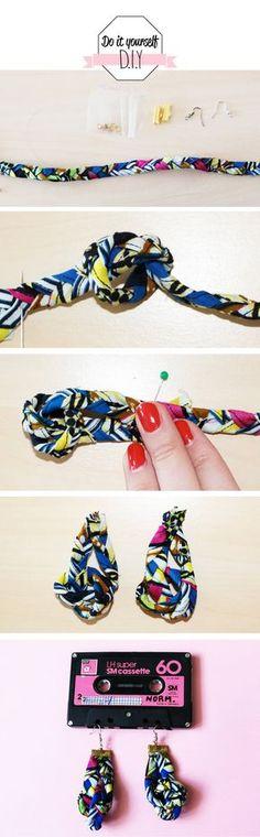 DIY boucles d'oereilles                                                                                                                                                                                 Plus