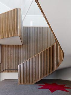 Ormond College Academic Centre by McGlashan Everist Architects