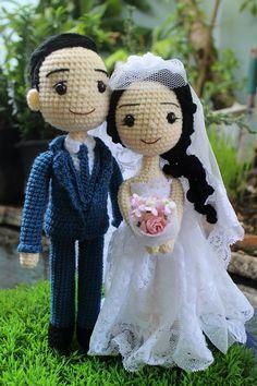 Wedding amigurumidoll