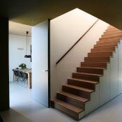 Wohnen und Leben - Ein Schrank kann auch Treppe sein... Hier mit wunderbarem Faltwerk