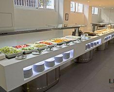 Furniture Donation Pick Up Denver Open Buffet, Buffet Set, Hotel Breakfast Buffet, Food Court Design, Commercial Kitchen Design, Iron Furniture, Luxury Furniture, Catering, Restaurant Interior Design