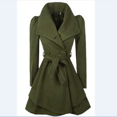 Special Designed Slim Trench-Coat