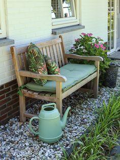 Porch Swing, Outdoor Furniture, Outdoor Decor, Bench, Living Room, Flowers, Backyards, Home Decor, Gardens