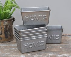 Vintage Hovis Bread Tins - Bring It On Home