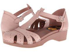 Swedish Hasbeens Fideli Sandal Dirty Pink - Zappos.com Free Shipping BOTH Ways