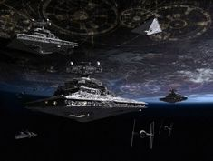 Coruscant Fleet-Final Version by 1darthvader.deviantart.com on @deviantART