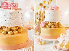 Hochzeitstorte-Torte-Hochzeit-20er Jahre-Glamour-Gold-