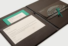 Only Cape Town brand identity by Inaria. Luxury hotel brand design and art direction. Corporate Invitation, Invitation Design, Brand Identity Design, Branding Design, Envelopes, Printing And Binding, Leaflet Design, Folder Design, Luxury Marketing