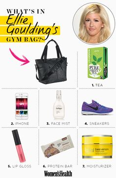 It's Pretty Zen Inside Ellie Goulding's Workout Bag - Check Out Her Must-Have Items