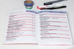 Die besten Stifte fürs Bullet Journal. Mildliner, Tombows und co! Journal 3, Bullet Journal Layout, Bullet Journal Inspiration, Journal Prompts, Bullet Journals, Filofax, Scrapbook, Bujo, Notebooks