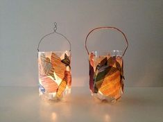 Laterne – die Upcycling-Variante From a PET bottle you can make a great lantern. How it works? Just read on … No glue, everything glued dry … Toddler Crafts, Diy Crafts For Kids, Diy Pet, Ganpati Decoration At Home, Large Lanterns, Chinese Lanterns, Sand Crafts, Pet Bottle, Upcycled Crafts