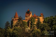 Mountains Photograph - Draculas Castle by Claudia M Photography