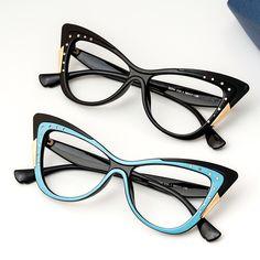 Rx Sunglasses, Stylish Sunglasses, Online Eyeglasses, Unique Cats, Cat Eye Frames, Cat Eye Glasses, Try On, Jessie, Specs