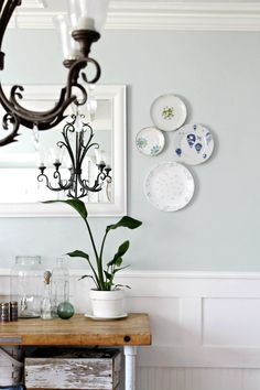 Hanging Plates On Wall how to hang a plate wall without hooks at sweetcsdesigns- this