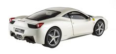 Ferrari 458 Italia as owned by F. Alonso, 1:18 (Hotwheels Elite)
