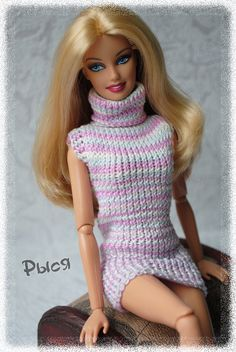 PlayDolls.ru - Играем в куклы :: Тема: Рыся: И в шутку, и всерьез (2/5) Crochet Barbie Clothes, Doll Clothes Barbie, Barbie Dress, Doll Dress Patterns, Barbie Patterns, Clothing Patterns, Fashion Dolls, Fashion Outfits, Barbie Wardrobe