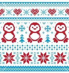 Love the hearts and snowflakes on this one!